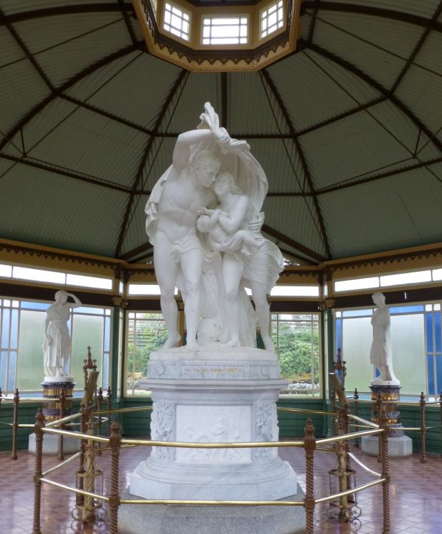 Escape from Pompeii Statue at Ballarat