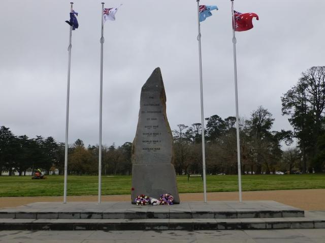 Ex POW Memorial at Ballarat