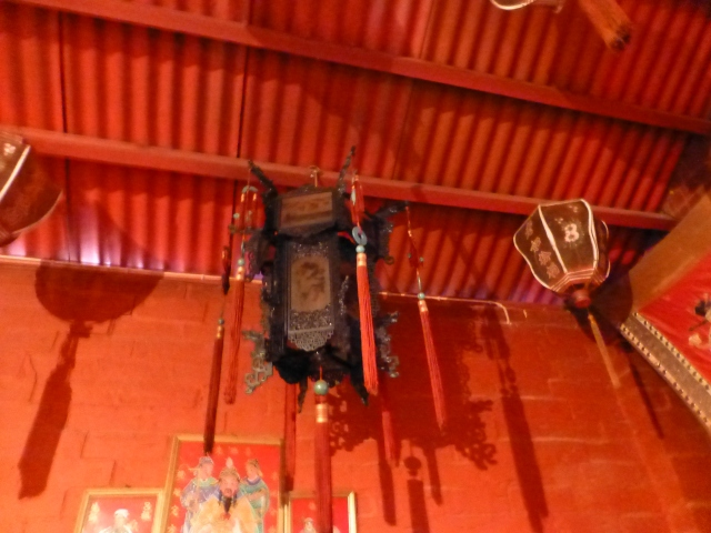 Inside the Joss House