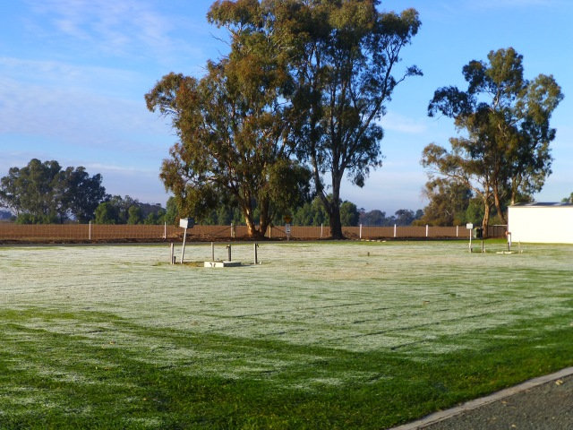 A very cold morning at Bridgewater