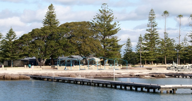 The Busselton foreshore near the jetty