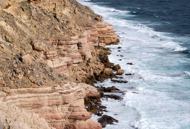 Coastal Cliffs at Kalbarri - near Natural Bridge