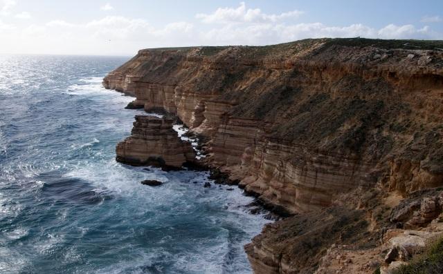 Coastal Cliffs at Kalbarri -Island Rock