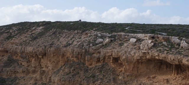 Coastal Cliffs at Kalbarri - there are paths and walkways on the edge of the cliffs