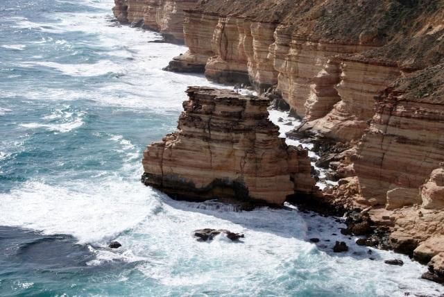 Coastal Cliffs at Kalbarri - Island Rock