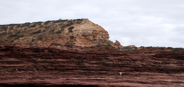 Red Bluff from the beach