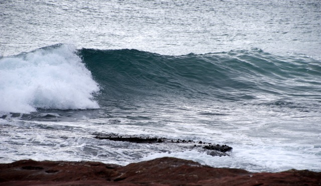 Great wave action at Kalbarri