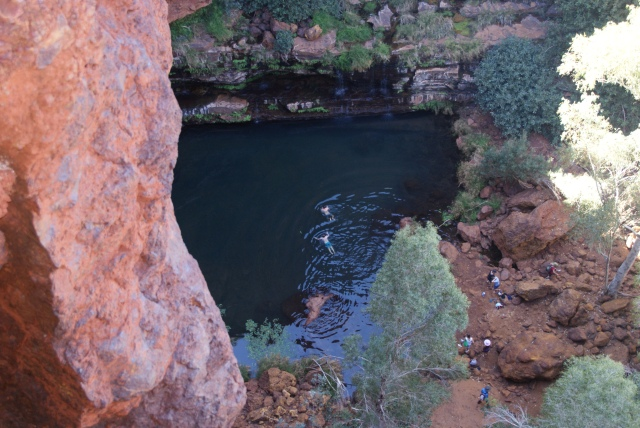 Circular Pool at Dales Gorge
