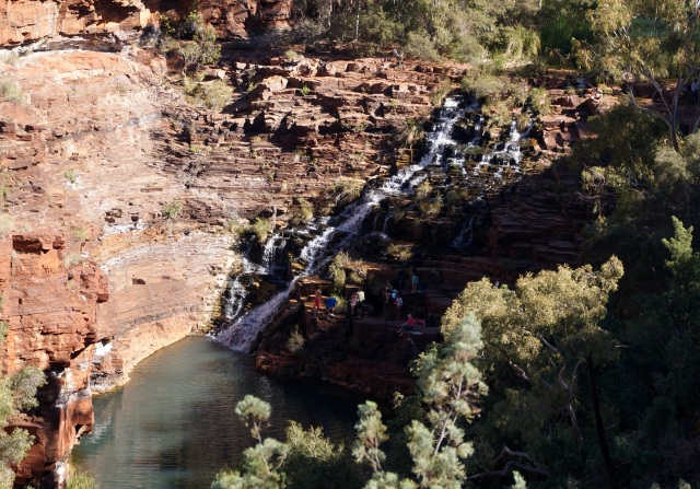 Fortescue Falls in Dales Gorge