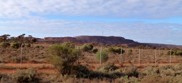 Iron Knob mining operations