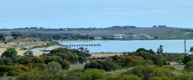 Coming into Streaky Bay