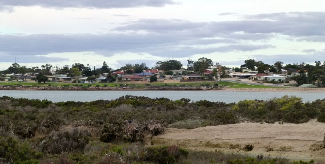 View of part of the town of Streaky Bay