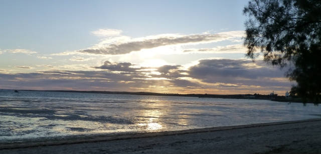Sunrise at Streaky Bay