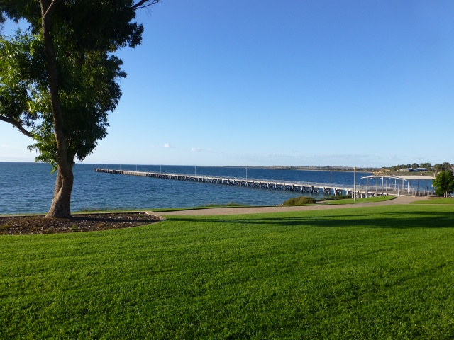 Streaky Bay Jetty and foreshore