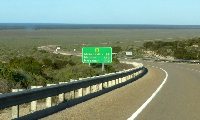 Only 712 kms to Norseman