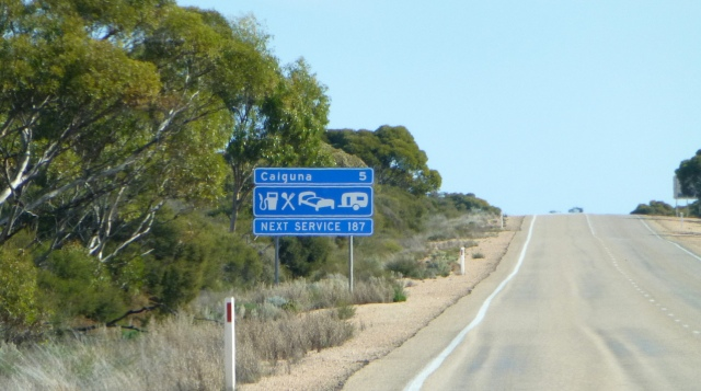 Just 5 Kms. to Caiguna