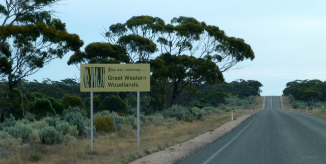 We enter the Great Western Woodlands Area