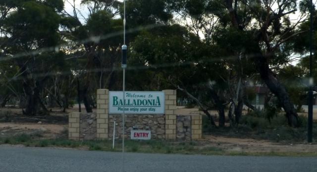 Entry to Balladonia