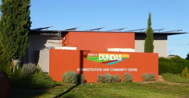 Dundas Council office in Norseman