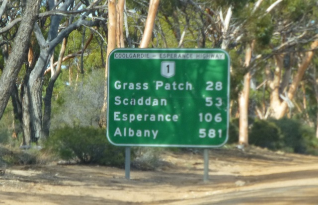 About halfway between Norseman and Esperance