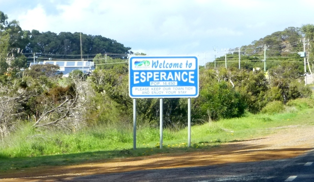 Esperance population 14450