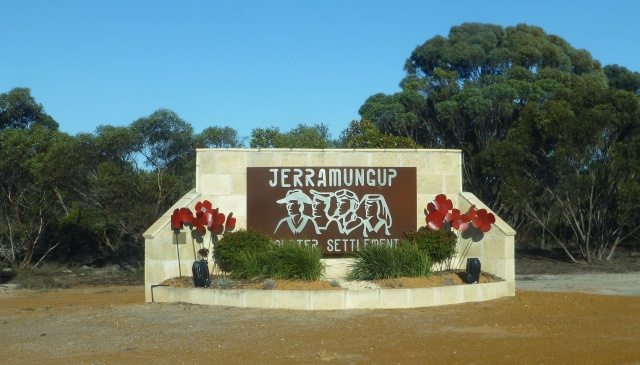 Town sign for Jerramungup