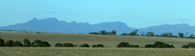 The Stirling Ranges in the distance