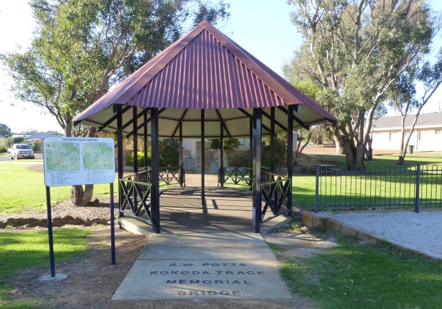 Kokoda Track Memorial Bridge at Kojonup