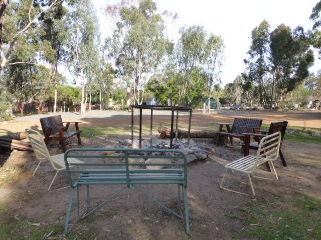 Fire pit - Kojonup Caravan Park