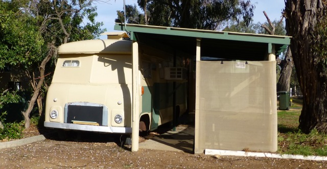 Different accommodation at Kojonup Caravan Park