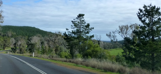 On the way into Nannup