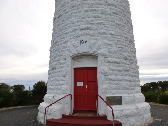 The lighthouse was constructed over a ten month period in 1903
