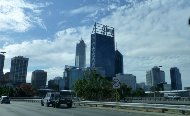 Highrise in Perth City