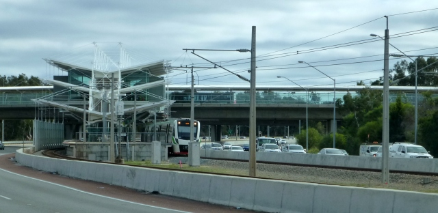 An interesting station on the urban rail network
