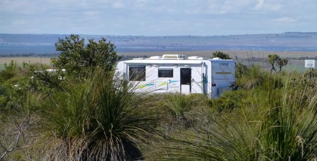 The caravan at Nilgen Lookout
