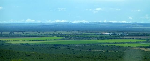 Landward view when leaving Nilgen Lookout
