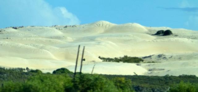 Sand drift before the Pinnacles