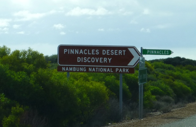 We passed the Pinnacles on the way to Jurien Bay
