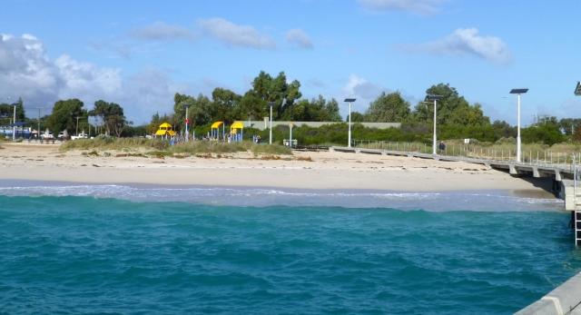 The foreshore at Jurien Bay