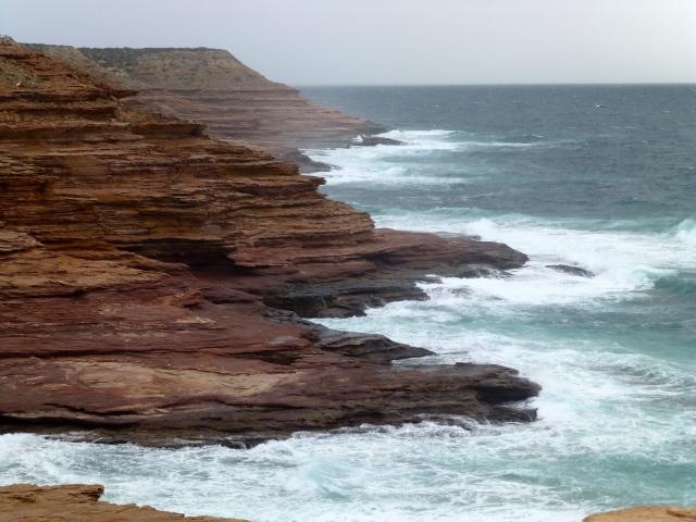 Coastal Cliffs at Kalbarri - Pot Alley