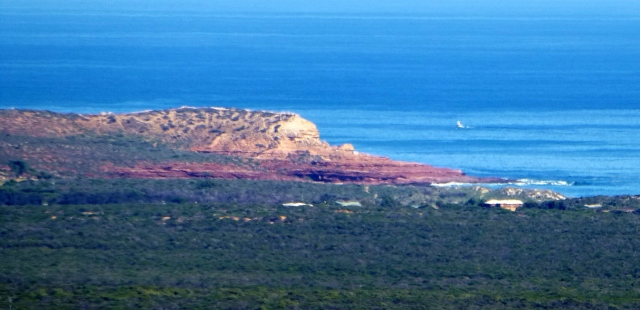 View of Red Bluff from Meanarra Hill
