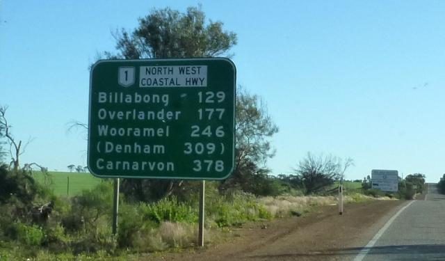 Only 378 kilometres to Carnarvon