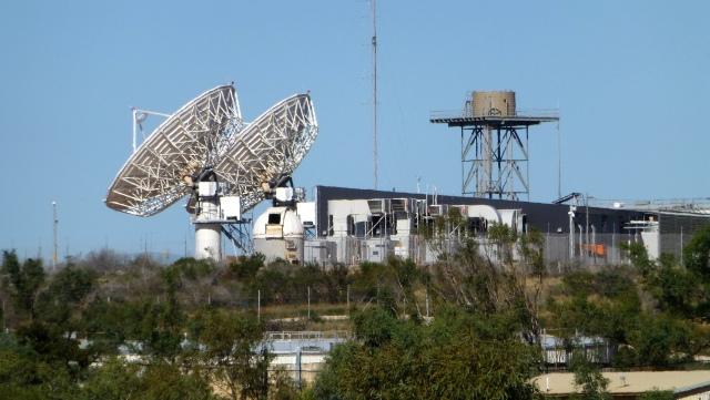 Radio telescopes at Carnarvon