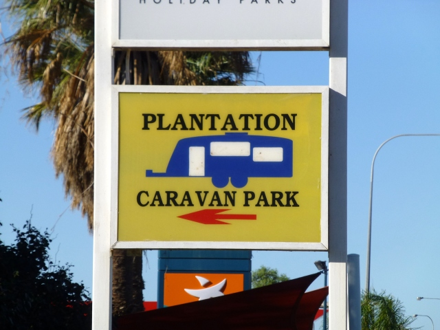 The Caravan Park at Carnarvon