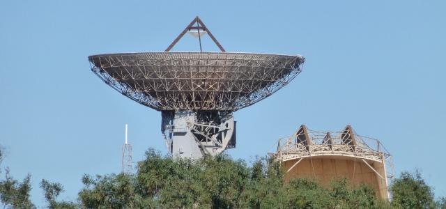 Radio telescope at Carnarvon