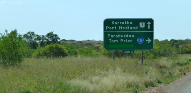We headed towards Paraburdoo