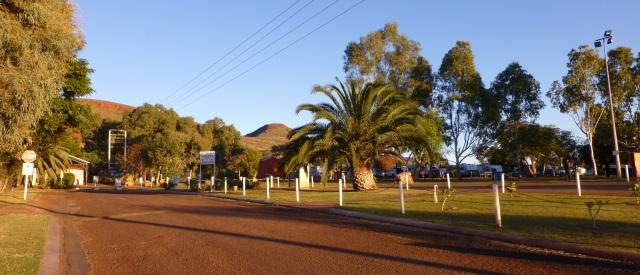 Entrance to Tom Price Tourist Park