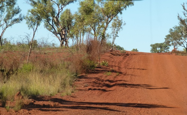 Typical unsealed road in Karijini National Park