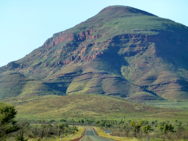 Along the road past Karijini National Park