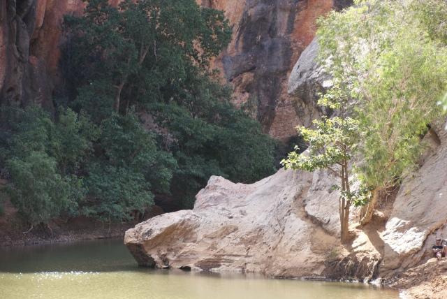 A view in Windjana Gorge